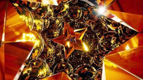Goldene Sterne Tunnel
