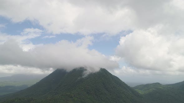 Cover Image for Mountain Landscape in the Philippines
