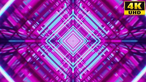 Thumbnail for Retrowave Kaleidoscope Vj Loops Pack V5