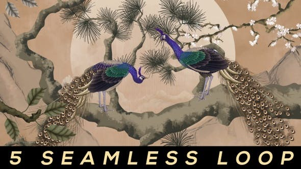 Thumbnail for Peacock Art Painting