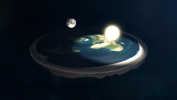 Flat Earth Conspiracy Sun And Moon Model