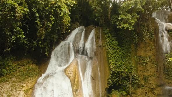Cover Image for Beautiful Tropical Waterfall
