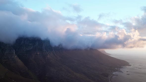Thumbnail for Table Mountain with a View of the Coastline
