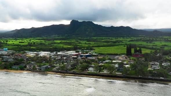 Thumbnail for Drone View Of Kauai Hawaii Tropical Location Sea Shore