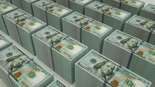 Bündel von 100-Dollar-Scheinen