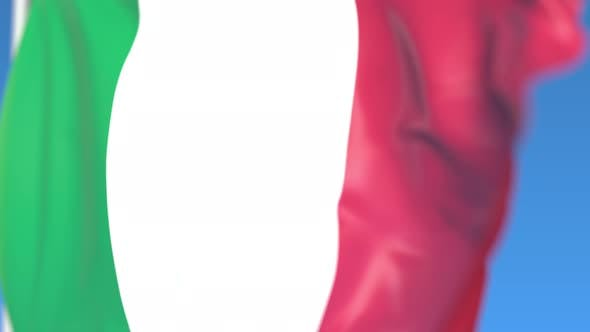 Thumbnail for Flying National Flag of Italy