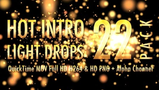 Thumbnail for Hot Intro Light Drops - Pack of 22