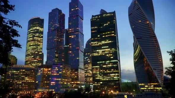 Cover Image for Business Center. Skyscrapers