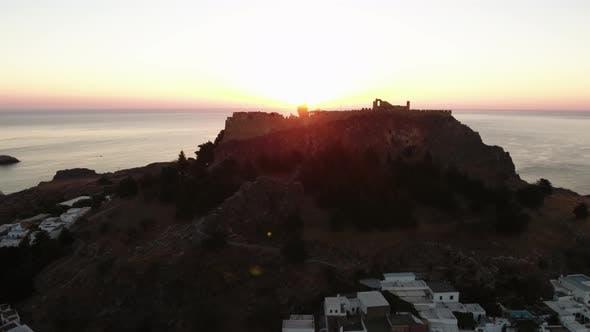 Thumbnail for Rhodes Island During Sunrise