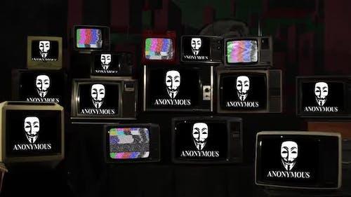 Anonymous Movement and Retro TVs.