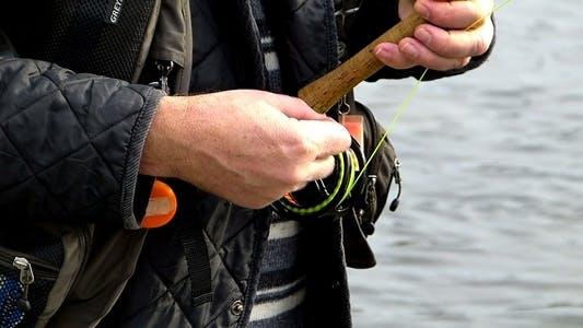 Thumbnail for Fishing Fly and Drawstring 2