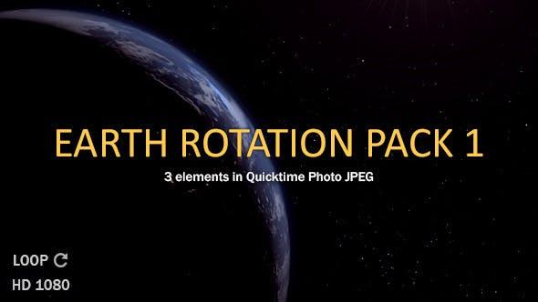 Earth Rotate Pack 1