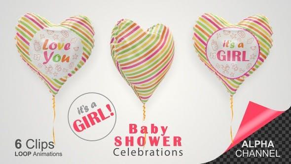 Baby Shower Celebration - Baby Girl