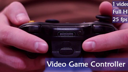 Thumbnail for Video Game Controller