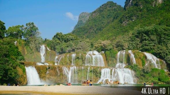 Thumbnail for 4K Ban Gioc Waterfall in Cao Bang, Vietnam
