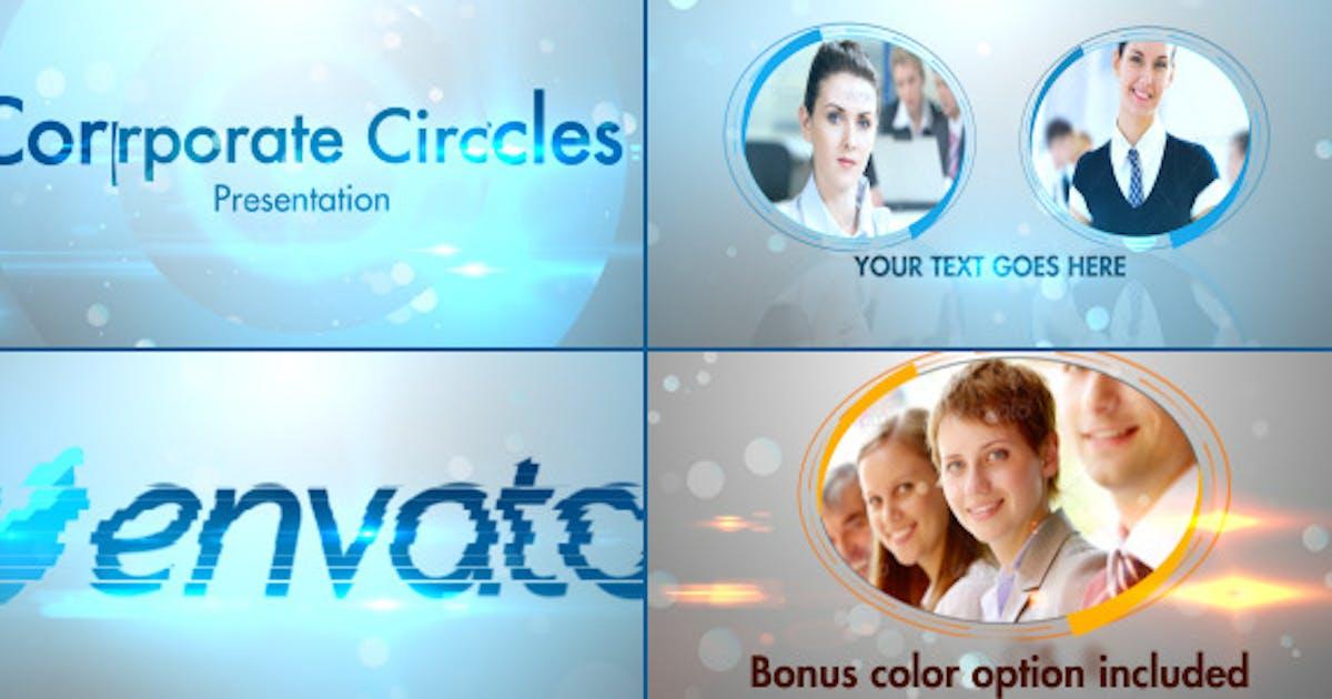 Download Stylish Corporate Circles Presentation by StrokeVorkz