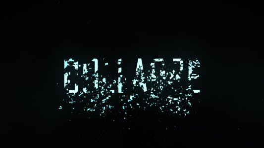 Thumbnail for Collapse Title Trailer