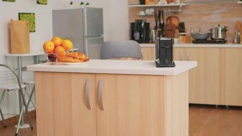 Modern Cozy Interior Kitchen