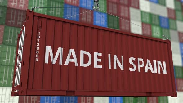 Thumbnail for Loading Container with MADE IN SPAIN Caption