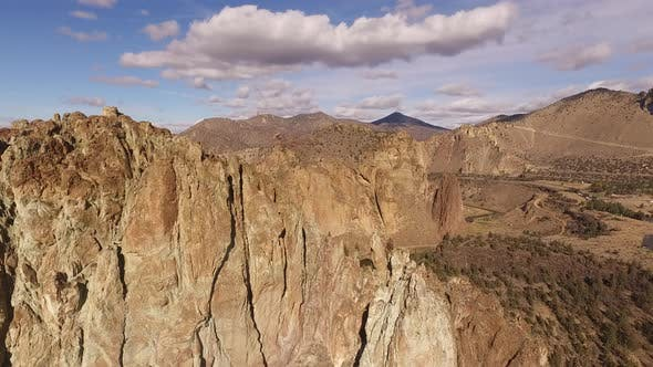Thumbnail for Aerial view of Smith Rock, Oregon