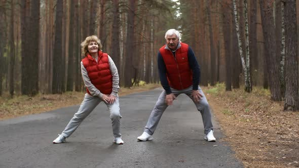 Thumbnail for Aged Athletes on Outdoor Training
