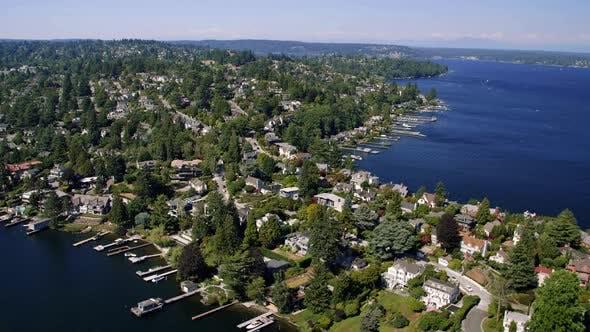 Thumbnail for Laurelhurst Waterfront Neighborhoods Washington Housing Aerial