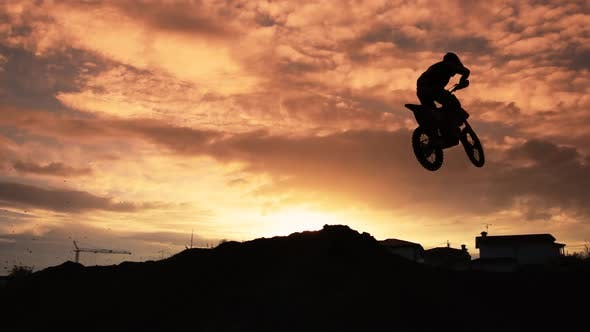 Thumbnail for Motocross Jump Super Slow motion