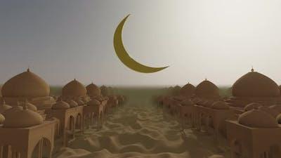 Desert Dune In The Ramadan 01 4K