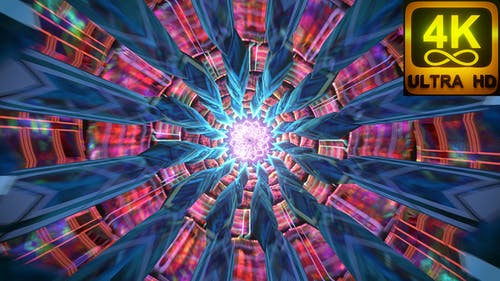 Meditation Audiovisual Background Music Art With Sacred Geometry Psychedelic Abstract Chakra Cgi