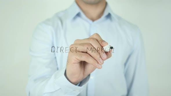 Direktmarketing, Schreiben auf dem Bildschirm
