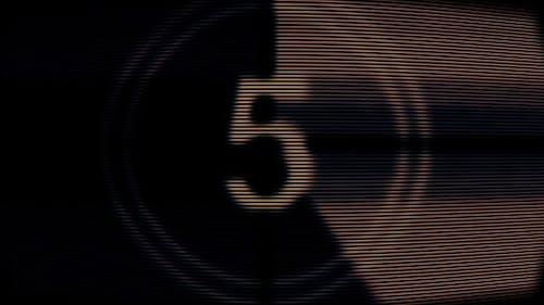 Film Countdown Retro