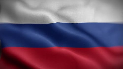 Russian Flag Front
