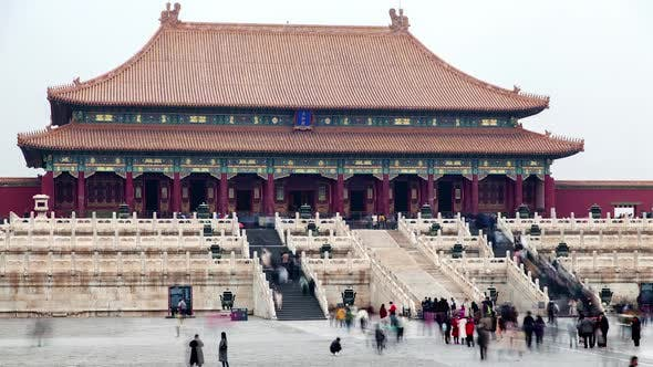 Thumbnail for Beijing Forbidden City Hall of Supreme Harmony Timelapse