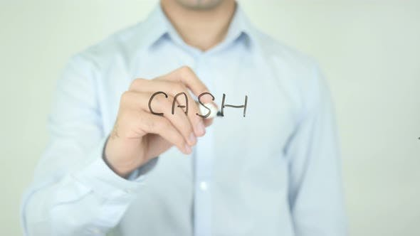 Thumbnail for Cash, Writing On Screen