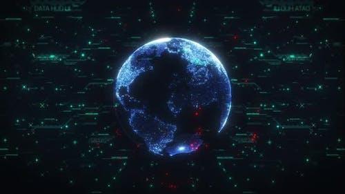 Earth Big Data HUD