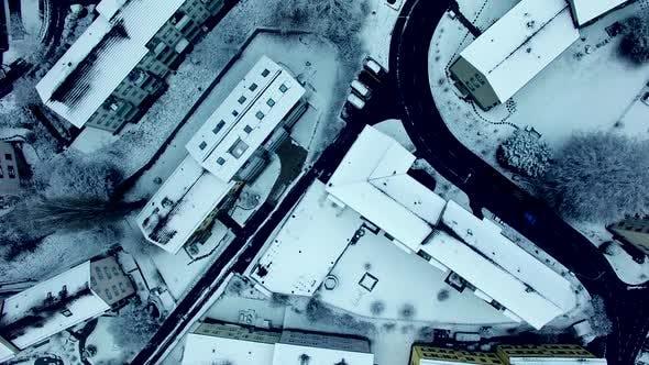 Thumbnail for Establishing Shot of Urban City Buildings Homes