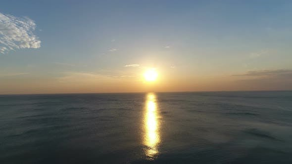 Thumbnail for Sunset Above Sea Beach