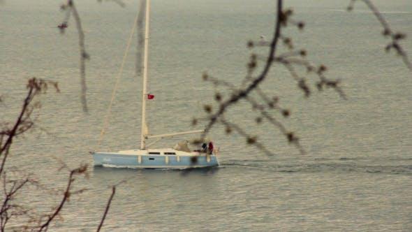 Thumbnail for Yacht Sailing On Sea 2