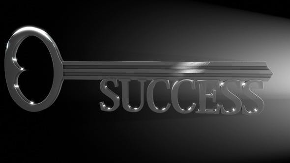 Thumbnail for Key to Unlock Success Concept Video