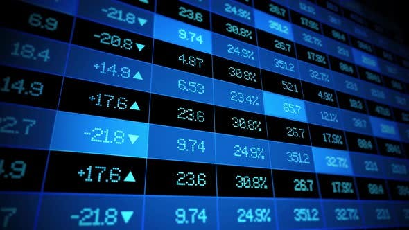 Cover Image for Stock Market Ticker Board
