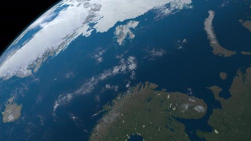 Barents Sea in Earth Planet