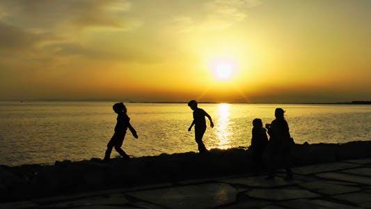 Thumbnail for Children Near the Seaside