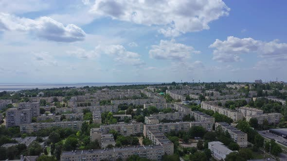 Thumbnail for Aerial View Of The City Nikopol, Ukraine