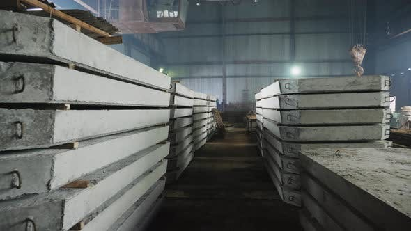 Plant for the Creation of Reinforced Concrete Slabs