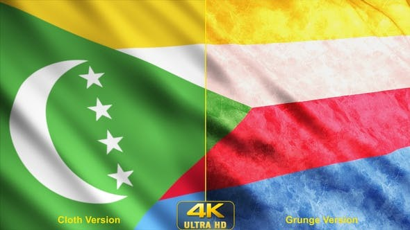 Thumbnail for Comoros Flags