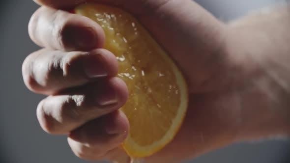 Squeezing Orange