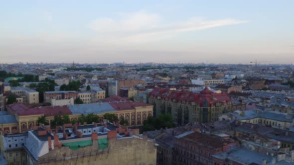 Thumbnail for Saint Petersburg Aerial 75. Roofs.