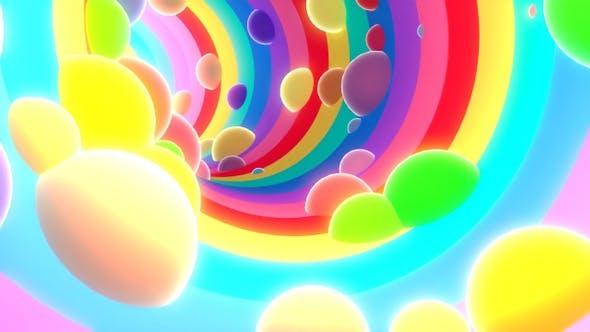 Thumbnail for 3D Rainbow Tunnel