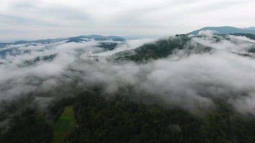 Foggy Mountain Peaks