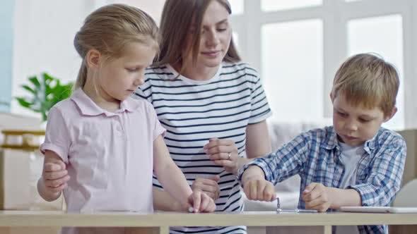Thumbnail for Children Assembling Furniture